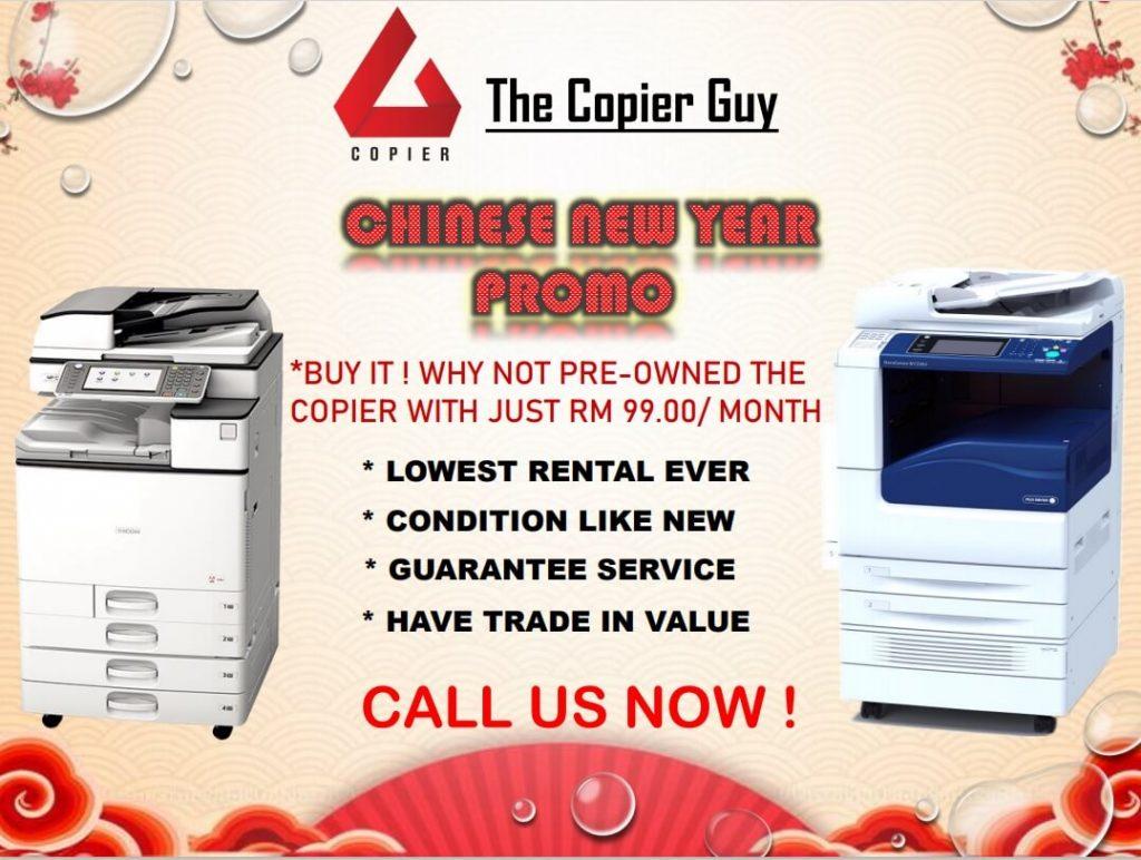 Photostat Machine Chinese New Year (CNY) Promo 2021