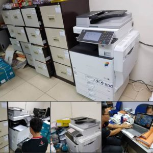 Supplying 2 Ricoh Colour Machine MPC 3002 for an auditor firm in Klang