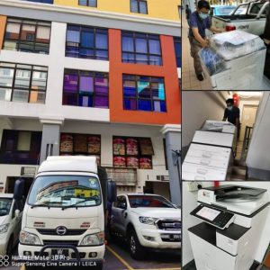 Supplying RICOH MPC 3003 photocopier for an office in Ampang