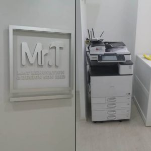 Photocopier delivered & installed for a renovation and design company in kepong