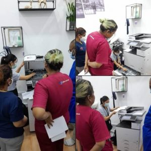 Delivered Multi-function Copier to a Clinic in Kayu Ara Damansara