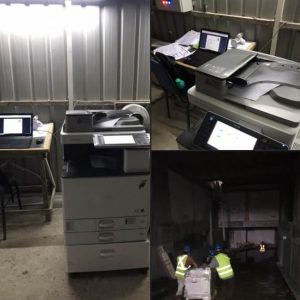 Delivered RICOH MPC 3002 copier to an office in Damansara