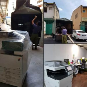 Delivered Ricoh MPC3502 to an Engineering Company located in Sri Damansara