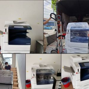 Fujixerox DC V C3376 had successfully delivered to client office which located at sungai buloh