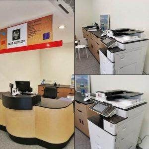 Photocopier delivered to our client Mail Boxes Etc in Damansara Perdana