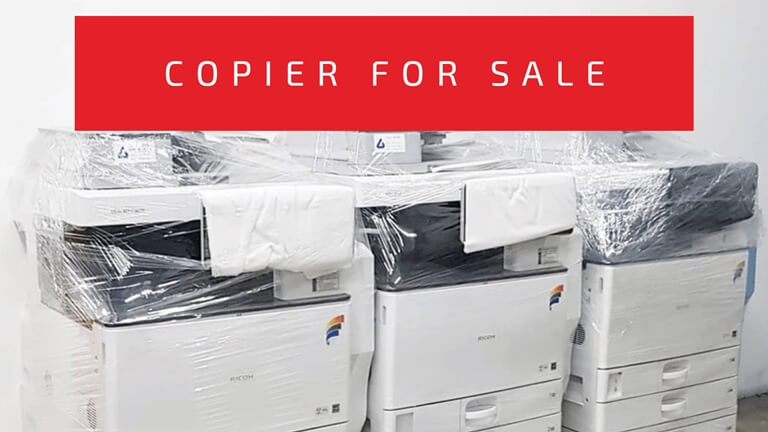 Brand New and Refurbished Copier For Sale