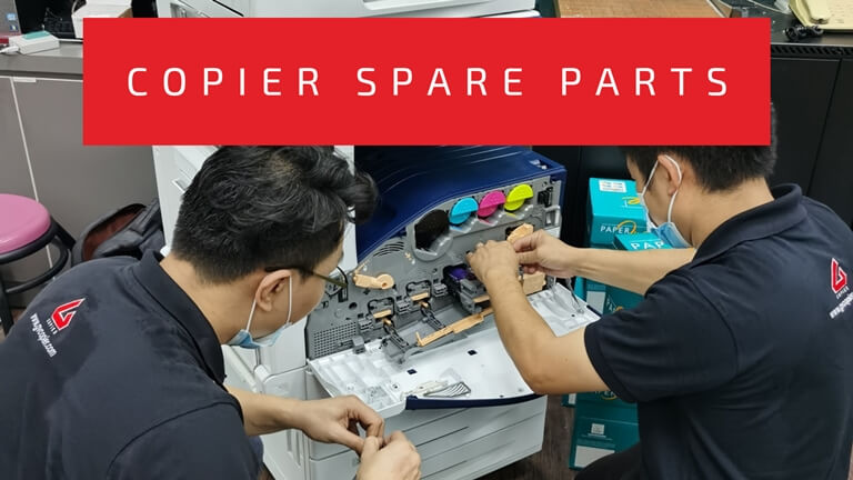 Copier Spare Parts Replacement By Our Experienced Technician